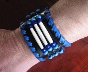 Bracelet os et perles Ref ACB016
