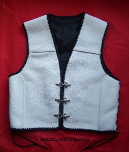 Gilet tressage celtique Ref VGG047