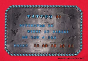 Gravure de Plaques Ref ACD066 (1)