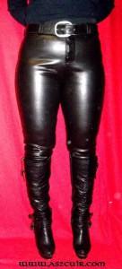 Pantalon cuir élastice Ref VPC031