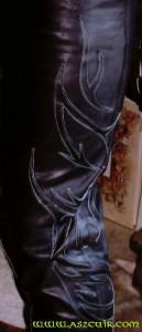 Pantalon cuir Ref AMS037