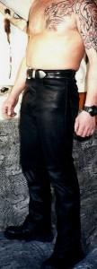 Pantalon cuir Ref VPC011