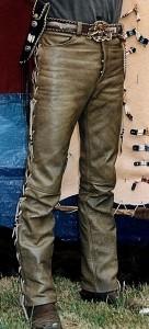 Pantalon cuir Ref VPC017