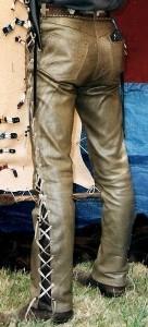 Pantalon cuir Ref VPC018