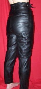 Pantalon cuir taille 36 (2)