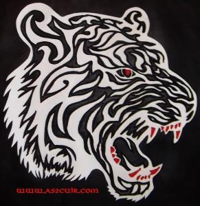 Patch Tête de tigre Ref VPP028