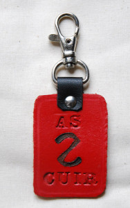 Porte-clefs As2Cuir Ref ACE016