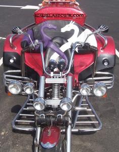 Sellerie Trike dragoons Ref AMS044