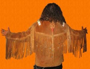 Veste à franges Ref AAV057