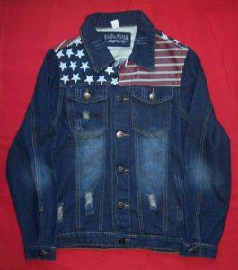 Veste en jean américaine taille L (1)