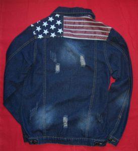 Veste en jean américaine taille L (2)