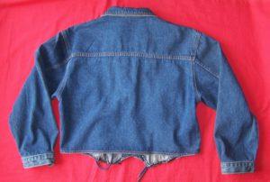 Veste en jean courte taille L (2)
