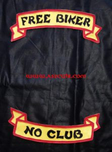 Back Patchs Biker Ref VPP121
