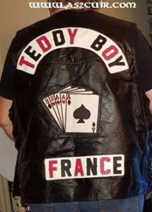 Back Patchs Teddy Boy Ref VPP129