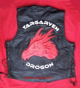 Back patchs 3D Targaryen Ref VPD085