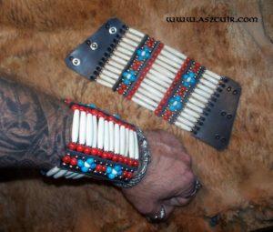 Bracelets amérindiens 12 rangs Ref AAB104
