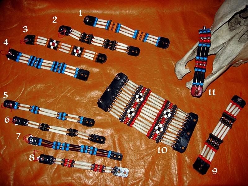 Amérindiens As Et Cuir Os 2 Bracelets – Aab024 Perles Ref jLqzGSMVpU