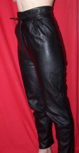 Pantalon cuir taille 36 (1)