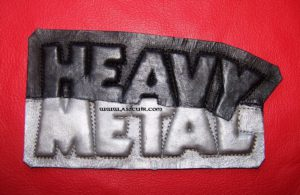 Patch 3D Heavy Metal Ref VPD022