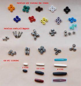 Perles et os