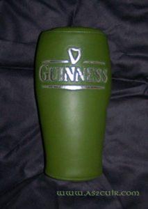 Pouf arrière verre Guinness Ref AMS102